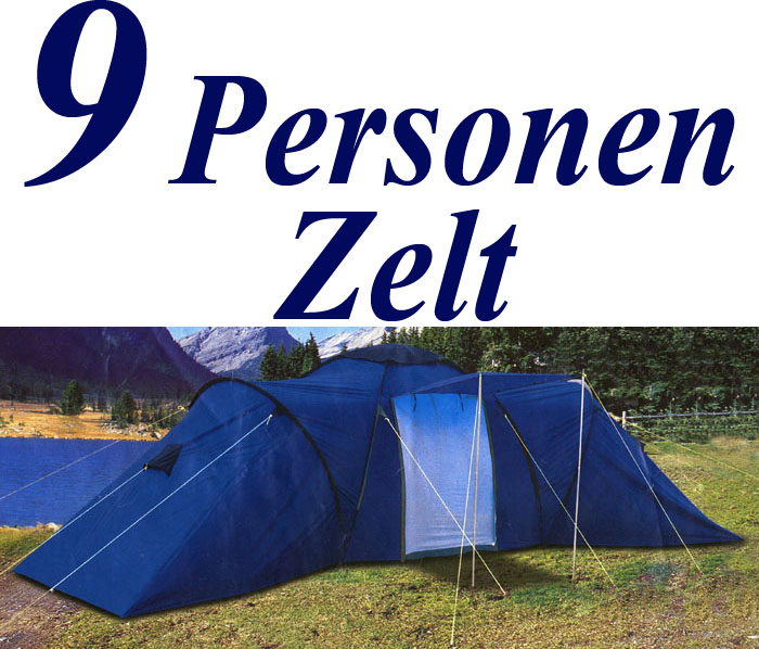 Zelt 9 Personen : Personen zelt familienzelt camping neu ebay